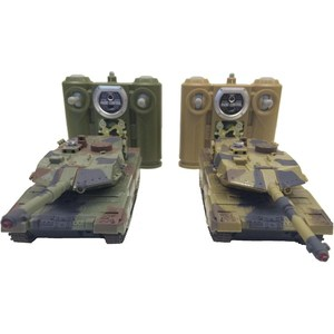 Радиоуправляемый танковый бой Huan Qi 552 масштаб 1:32 2.4G набор танков на радиоуправлении abtoys танковый бой 552 масштаб 1 64 2 шт