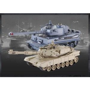 Радиоуправляемый танк Zegan TIGER + Abams танк радиоуправляемый heng long german panther