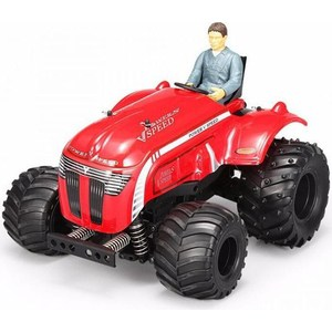 Радиоуправляемый трактор WL Toys P949 Tractor 2WD 1:10 2.4GHz coloffice 1pc creative 21 8 5 28cm wooden bookends multifunctional storage retro key box wall decoration desktop bookend supplie