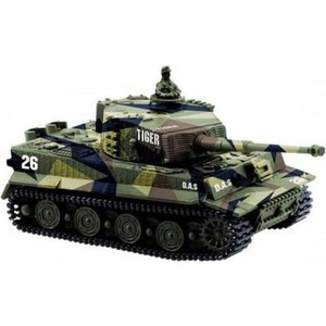 Радиоуправляемый танк Great Wall Toys German Tiger I масштаб 1:72 27Mhz great expectatiois