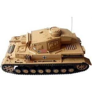 Радиоуправляемый танк Heng Long DAK Panzerkampfwagen IV Ausf F-1 масштаб 1:16 40Mhz радиоуправляемый танк heng long tauch panzer iii ausf h pro масштаб 1 16 40mhz