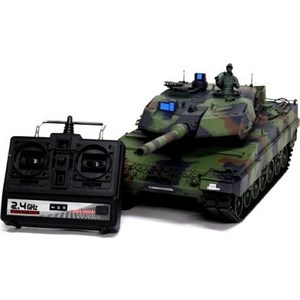 Радиоуправляемый танк Heng Long German Leopard II A6 масштаб 1:16 2.4G pilotage leopard ii a6 nato 3 1 24 27mhz rc8129