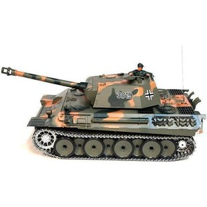 Радиоуправляемый танк Heng Long German Panther Pro масштаб 1:16 40Mhz henglong 3818 3818 1 german tiger i 3819 3819 1 german panther 1 16 rc tank upgrade parts metal track metal driving wheels