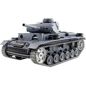 Радиоуправляемый танк Heng Long Panzerkampfwagen III Ausf L SD KFZ 141-1 Pro масштаб 1:16 40Mhz радиоуправляемый танк heng long u s m4a3 sherman масштаб 1 16 40mhz
