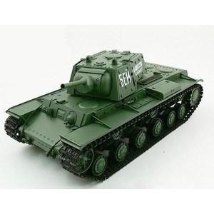 Радиоуправляемый танк Heng Long Russia КВ-1 масштаб 1:16 2.4G радиоуправляемый танк vstank airsoft series russia кв 2 green edition масштаб 1 24 2 4g
