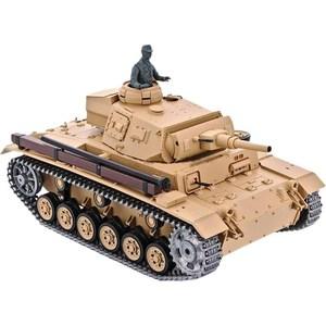 Радиоуправляемый танк Heng Long Tauch Panzer III Ausf H Pro масштаб 1:16 40Mhz радиоуправляемый танк heng long ztz 99 масштаб 1 16 40mhz