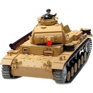 Радиоуправляемый танк Heng Long Tauch Panzer III Ausf H масштаб 1:16 2.4G танк радиоуправляемый heng long german panther