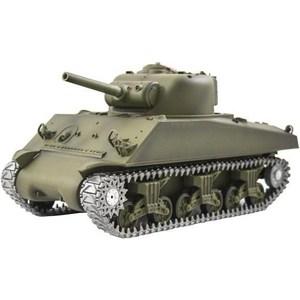 Радиоуправляемый танк Heng Long U.S. M4A3 Sherman Pro масштаб 1:16 40Mhz радиоуправляемый танк taigen panzerkampfwagen iv ausf hc pro масштаб 1 16 2 4g