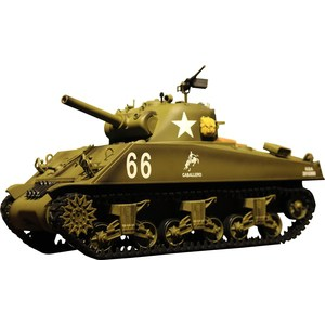 Радиоуправляемый танк Heng Long U.S. M4A3 Sherman масштаб 1:16 40Mhz xk dhc 2 a600 rc airplane spare part main wing