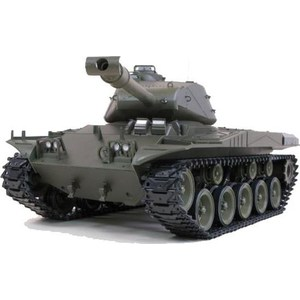 Радиоуправляемый танк Heng Long US M41A3 Bulldog масштаб 1:16 2.4 G knl hobby 1 16 rc bulldog m41a3 tank model remote control oem coating of paint to do the old