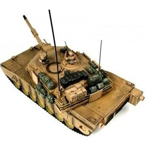 Радиоуправляемый танк Hobby Engine М1А2 Abrams масштаб 1:16 27Mhz радиоуправляемый танк taigen panzerkampfwagen iv ausf hc pro масштаб 1 16 2 4g