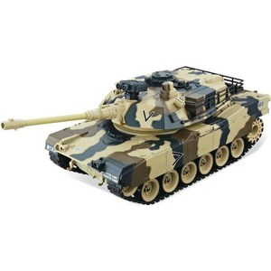 Радиоуправляемый танк HouseHold M1A2 Abrams Yellow Edition масштаб 1:20 40Mhz 3w 3 led rgb sound active crystal mini party light transparent green white
