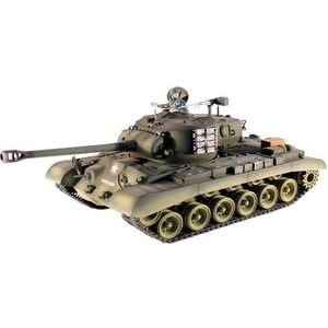 Радиоуправляемый танк Taigen M26 Pershing Snow Leopard Pro масштаб 1:16 2.4G цены