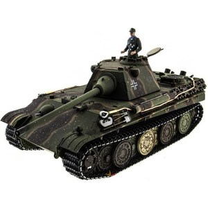 Радиоуправляемый танк Taigen Panther type F HC ИК масштаб 1:16 2.4G радиоуправляемый танк taigen panzerkampfwagen iv ausf hc pro масштаб 1 16 2 4g