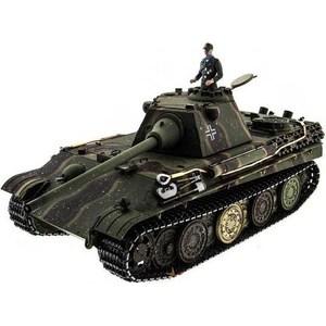 Радиоуправляемый танк Taigen Panther type F HC масштаб 1:16 2.4G радиоуправляемый танк taigen panzerkampfwagen iv ausf hc pro масштаб 1 16 2 4g