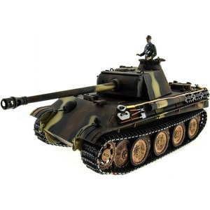 Радиоуправляемый танк Taigen Panther type G HC ИК масштаб 1:16 2.4G радиоуправляемый танк taigen panzerkampfwagen iv ausf hc pro масштаб 1 16 2 4g