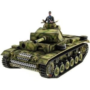 Радиоуправляемый танк Taigen Panzerkampfwagen III HC ИК масштаб 1:16 2.4G цены