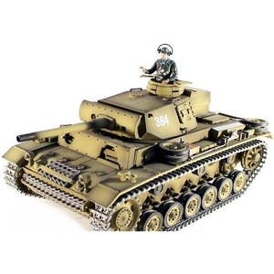 Радиоуправляемый танк Taigen Panzerkampfwagen III HC масштаб 1:16 2.4G радиоуправляемый танк taigen sturmgeschutz iii hc pro масштаб 1 16