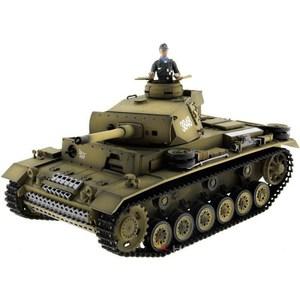 Радиоуправляемый танк Taigen Panzerkampfwagen III ИК масштаб 1:16 2.4G танк радиоуправляемый heng long german panther