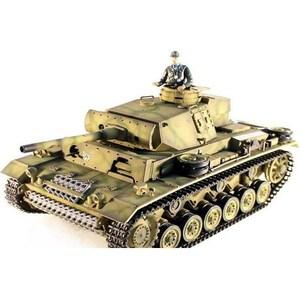 Радиоуправляемый танк Taigen Panzerkampfwagen III масштаб 1:16 2.4G радиоуправляемый танк taigen sturmgeschutz iii hc pro масштаб 1 16