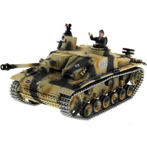 Радиоуправляемый танк Taigen Sturmgeschutz III HC масштаб 1:16 2.4G радиоуправляемый танк taigen sturmgeschutz iii hc pro масштаб 1 16