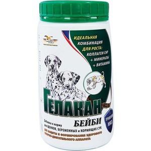 Добавка к корму GELACAN Бейби формирование здорового опорно-двигательного аппарата для щенков, беременных и кормящих собак 500г
