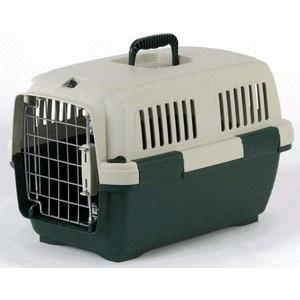 Переноска Marchioro CAYMAN 1 зелено-бежевая 50x33x32h см для животных клетки для перевозки собак в машине недорого
