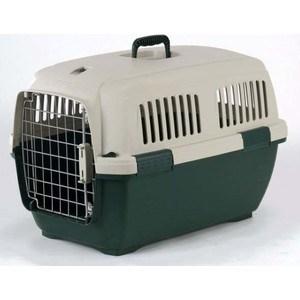 Переноска Marchioro CAYMAN 3 зелено-бежевая 64x43x43h см для животных клетки для перевозки собак в машине недорого