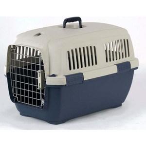 Переноска Marchioro CAYMAN 3 сине-бежевая 64x43x43h см для животных клетки для перевозки собак в машине недорого