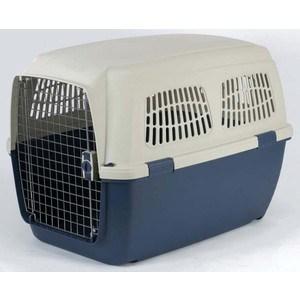 Переноска Marchioro CAYMAN 6 сине-бежевая 93x65x68h см для животных клетки для перевозки собак в машине недорого