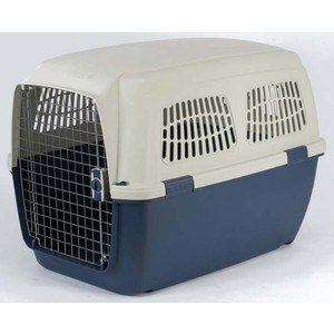 Переноска Marchioro CAYMAN 7 сине-бежевая 105x75x79h см для животных клетки для перевозки собак в машине недорого