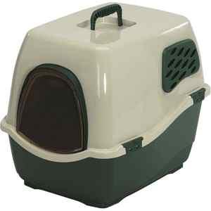 Био-туалет Marchioro BILL 2F зелено-бежевый 57x45x48h см для кошек аксессуар био фильтр daikin kaf972a4e для mc707