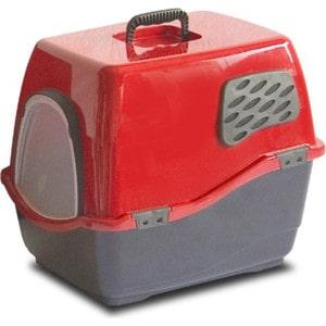 Био-туалет Marchioro BILL 2F рубиново-черный 57x45x48h см для кошек аксессуар био фильтр daikin kaf972a4e для mc707