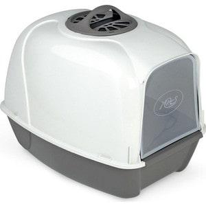 Био-туалет MPS PIXI серый 52x39x39h см для кошек mps mps био туалет komoda 54х39х40h см с совком красного цвета