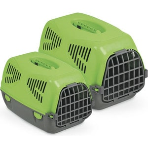 Переноска MPS SIRIO BIG зеленая 64x39x39h см для животных