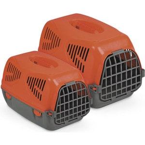 Переноска MPS SIRIO LITTLE красная 50x33,5x31h см для животных миска для домашних животных mps luna