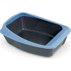 Туалет MPS VIRGO с рамкой 52x39x20h см для кошек (цвета в ассортименте) mps mps био туалет komoda 54х39х40h см с совком красного цвета