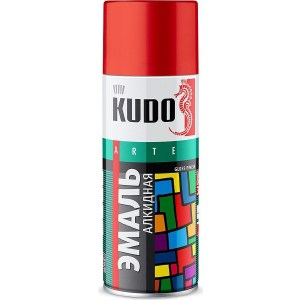Эмаль алкидная аэрозоль KUDO розовая 520мл. (12)ku-1014