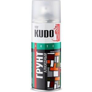 Грунт алкидный аэрозоль KUDO серый 520мл. (12)ku-2001