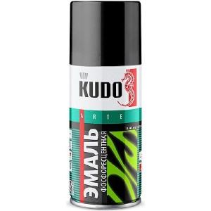 Эмаль фосфорисцентная аэрозоль KUDO с желто-зеленым свечением 210мл. (6)ku-1250.1