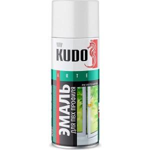 Эмаль аэрозоль KUDO для пвх профиля белая 520мл. (6)ku-6101