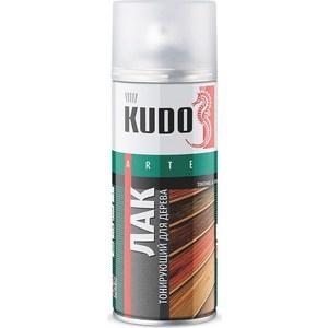 Лак аэрозольный тонирующий KUDO для дерева ОРЕХ 520мл. (6)KU-9042
