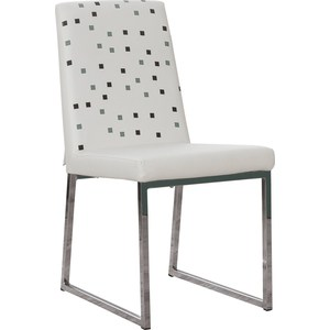 Стул кухонный AlwaysSTAR S21 white экокожа, мягкое сиденье (2 шт)