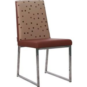 Фотография товара стул кухонный AlwayseSTAR S21 cappuccino экокожа, мягкое сиденье (2 шт) (730609)