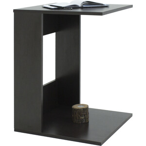 Стол журнальный Мебелик BeautyStyle 3 венге/без стекла журнальный столик мебелик beautystyle 1