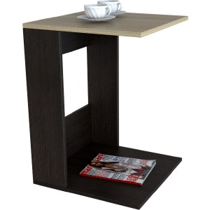 Стол журнальный Мебелик BeautyStyle 3 венге/сонома без стекла