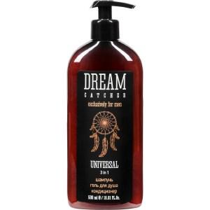 DREAM CATCHER Шампунь, гель для душа, кондиционер Universal 3 in 1 500 мл шампунь и гель для душа bvlgari man in black 200 мл