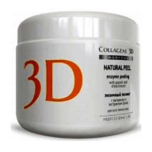 Medical Collagene 3D Пилинг с папаином и экстрактом шисо NATURAL PEEL 150 мл for samsung q530 keyboard c shell top page 2
