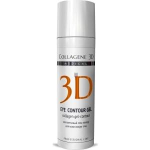 Medical Collagene 3D Гель-контур для глаз EYE CONTOUR GEL с янтарной кислотой 30 мл declare revitalising eye contour gel восстанавливающий гель для кожи вокруг глаз 15 мл