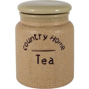 Банка для сыпучих продуктов (чай) Anna Lafarg LF Ceramics Кантри Хоум (AL-180F9689-LF) банка для сыпучих продуктов чай anna lafarg lf ceramics букет al 175f6294 b lf